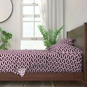Dog Dachshund Puppy Doxie Animal Polka 100 Cotton Sateen Sheet Set By Roostery