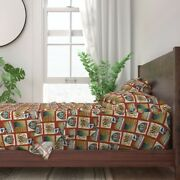 Highways Road Travel Byways Interstate 100 Cotton Sateen Sheet Set By Roostery