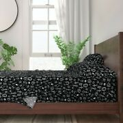Magical Processions Swords Goblet 100 Cotton Sateen Sheet Set By Roostery