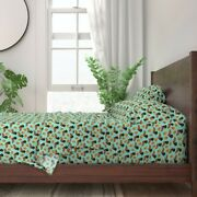 Doxie Dachshund Food Dog Dogs Pet Puppy 100 Cotton Sateen Sheet Set By Roostery