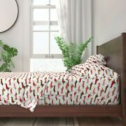 Doxie Dog Pet Animal Weiner Dogs 100 Cotton Sateen Sheet Set By Roostery