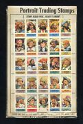 1949 Topps Test Stamps X-ray Round Up 25 Pirates Baur's Aunt Hannahs Bread Promo