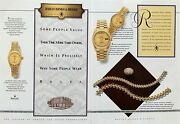 1991 Rolex Extraordinarily Dependable And Baileys Banks And Biddle Print Ad
