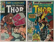 The Mighty Thor 411412 1st Appearance Of The New Warriors Newsstand Copies