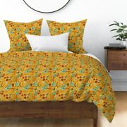 Farmers Market Garden Vegetables Cooking Sateen Duvet Cover By Roostery