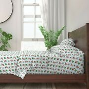 Yorkie Yorkshire Dog Pet Cookie Tree 100 Cotton Sateen Sheet Set By Roostery