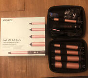 Amika Jack Of All Curls 5 Interchangeable Curler And Thermal Brush Starter Set