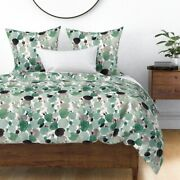 Cactus Garden Rose Plant Desert Watercolor Sateen Duvet Cover By Roostery