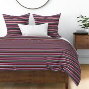 New Mexico Indian Serape Style Mexican Cinco De Sateen Duvet Cover By Roostery