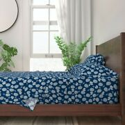 Pinecone Winter Nature Pinecones 100 Cotton Sateen Sheet Set By Roostery