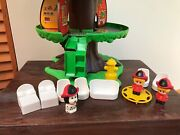 1975 Kenner Tree Tots Firehouse Treehouse Vintage Playset