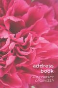 Address Book Easy To Use A-z Contact Organizer With Tabs - Names Addresses B...