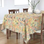 Tablecloth Stamps Stamp Postage Mail International Philately Cotton Sateen