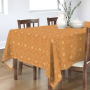 Tablecloth Rococo Baroque Tile Traditional Damask Serpentine Cotton Sateen
