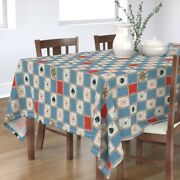 Tablecloth Playing Cards Cards Deck Queen Hearts Spades Magic Cotton Sateen