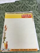Letterhead For Country Club Beer M. K. Goetz Brewing Co St. Joseph Mo 1950andrsquos Era