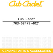Cub Cadet 703-08479-4021 Shave Plate Yellow 2 46 Blade 19a40022