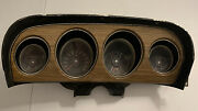 1969 Ford Mustang Deluxe Instrument Cluster With New Parts