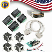 Cnc Kit 4 Axis Nema 17 48oz.in Stepper Motor And Dm432 Driver Hobby Cnc Us Ship