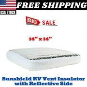 Camco Rv Vent Insulator And Skylight Cover With Reflective Surface Fits Standard