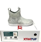 Xtratuf Waterproof Rubber Realtree Fishing Wav3 Camo Menand039s Ankle Deck Boots