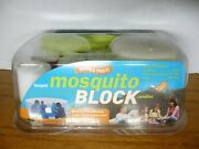Vintage Bernzomatic Mosquito Block Candles 7 Pcs 30 Hours Burn Each