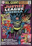 Justice League Of America 48, 67 Fine/very Fine, 80 Pg. Giant G-29, G-53