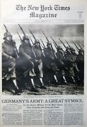 1935 March 24 German Army Maimonides Ramapo Hill Folk Stamps Wiley Ny Times