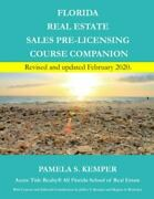 Florida Real Estate Sales Pre-licensing Course Companion Like New Used Free...