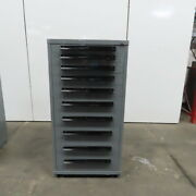 10 Drawer Industrial Parts Tool Storage Shop Cabinet 30x28x59