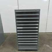 12 Drawer Industrial Parts Tool Storage Shop Cabinet 29x28x59