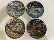 Mcdonald's Golden Country Plates By Bill Bell, In Excellent Condition