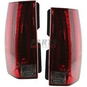 New Led Tail Lamp Left And Right Fits 2007-14 Cadillac Escalade 22884388 22884387