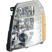 New Hid Headlight Assembly Left Fits 2007-2014 Cadillac Escalade 20806108