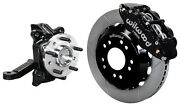 Wilwood Front Disc Brake Kit And Drop Spindles63-70 Chevy C10gmc C1513 Rotors