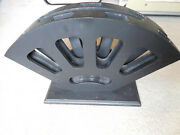 Heavy 7 Sword Floor Stand To Hold Swords Or Cutlasses In A Fan Display