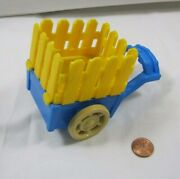 Fisher Price Little People Royal Castle Cart For Horse Barn Farm Trailer 2003