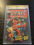 Daredevil 60 Cgc 3.0 Ss Gene Colan Only 7 Signed 1970 Mcu Crimewave Appearance