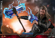 Hottoys 1/6 Scale Mms557 Avengers Thor Fat Thor Viking Soldier Action Figure Toy