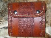 Handmade Leather Fly Fishing Wallet
