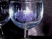 Vintage Cordial Glasses Barton And Guestier Bandg Fondee Pair Of 2 Disney Epcot 1984