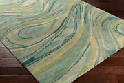 Abstract Area Rugs 95 Wool 5 Viscose Hand Tufted Medium Pile For Home Decor