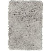Solid Area Rugs 100 Polyester Hand Woven Plush Pile For Home Decor