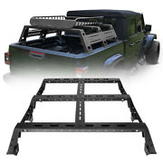High Bed Rack Trunk Luggage Hi-lift Cargo Carrier Fit Jeep Gladiator Jt 20-21