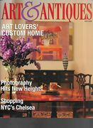 Art And Antiques Magazine May 2000 Art Lovers' Custom Home Nyc Chelsea