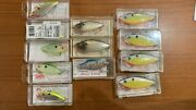 Lot Of 12 Nos Bill Lewis Rattle-l-trap Fishing Lures