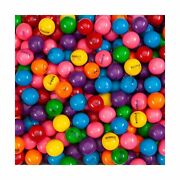 Assorted Fruit Flavored 1 Giant Bubble Gums For Gumball Machine 140 Pcs 2.5 Lbs
