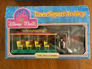 Disney Magic Disney World Town Square Trolley Horse And Conductor Sears 1988 Open