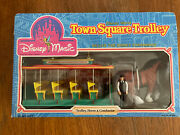 Disney Magic Disney World Town Square Trolley Horse And Conductor Sears 1988