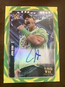 2020 Topps Wwe Transcendent Vip Party John Cena 1/1 Auto One Of One